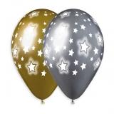 Silver-Gold-Starburst-Shiny